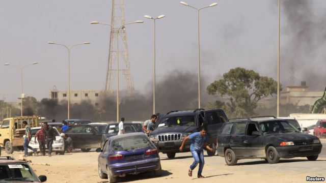 Libyan lawmakers kidnapped as gunmen storm parliament