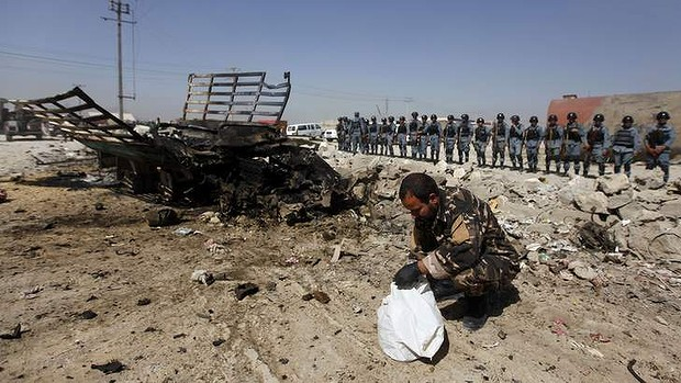 Twin suicide attacks in Kabul kills nine