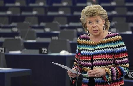 EU justice chief seeks answers on PRISM