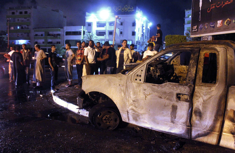 Libya fighting spreads to third oil port, 11 killed in Benghazi