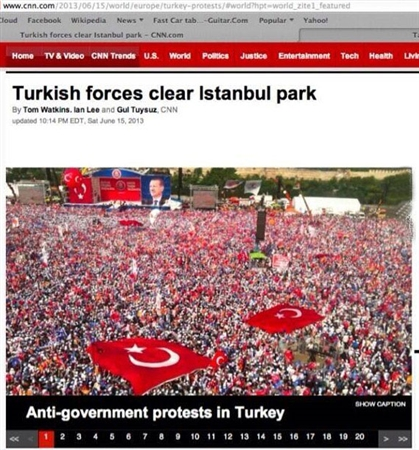 CNN's AK Party rally photo confusing