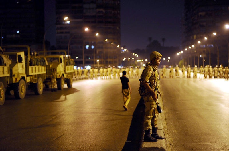 Egypt military courts to handle terrorism cases