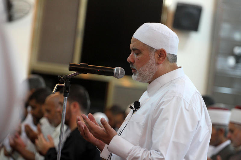 Palestinian leaders pray for Turkey mine victims