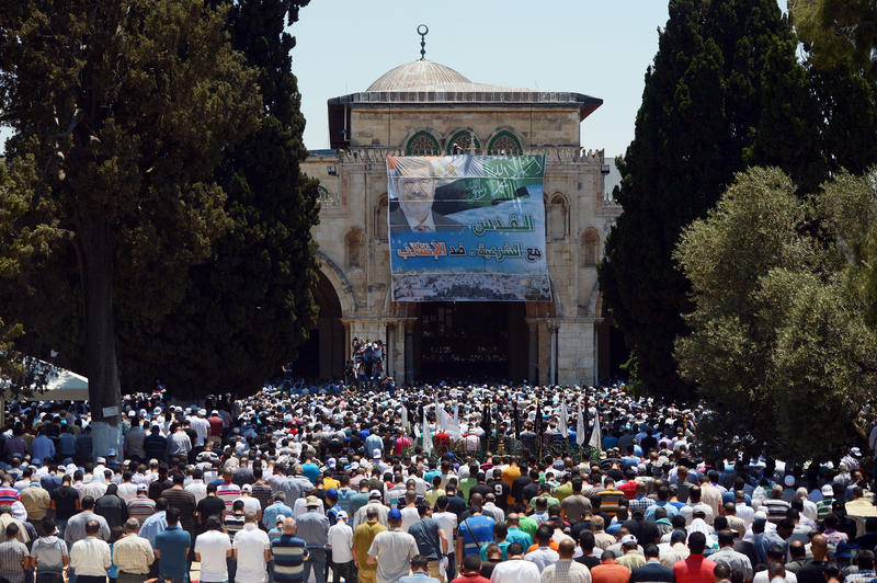 Egypt's pro-Morsi bloc calls for rallies in defense of Al-Aqsa