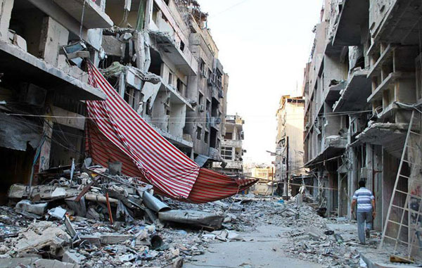 Humanitarian aid to enter Homs