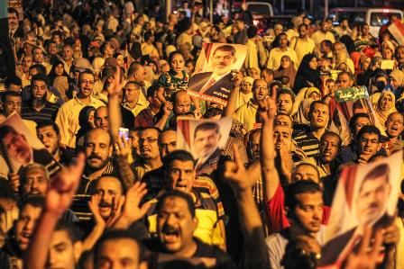 Anti-coup protester killed in Egypt's Alexandria