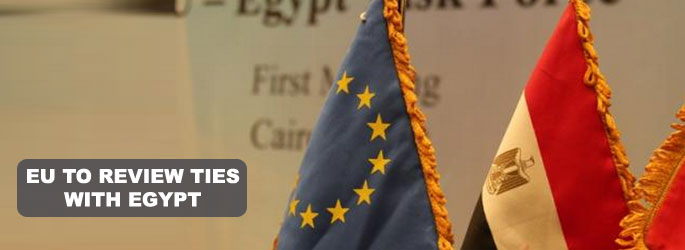 EU to review ties with Egypt