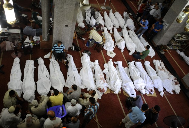 Real death toll not revealed in Egypt