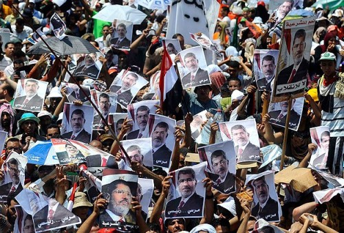 Pro-Morsi bloc urges boycott of Egypt's elections
