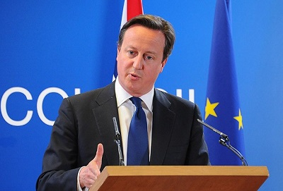 Britain's Cameron ready to rule out future coalition