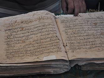 1,200 years old ancient manuscript of Quran found in Turkey