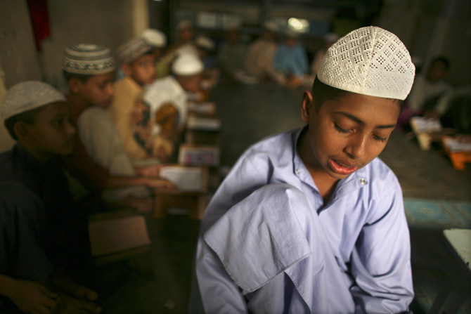 Madrassas in India attract Hindu students