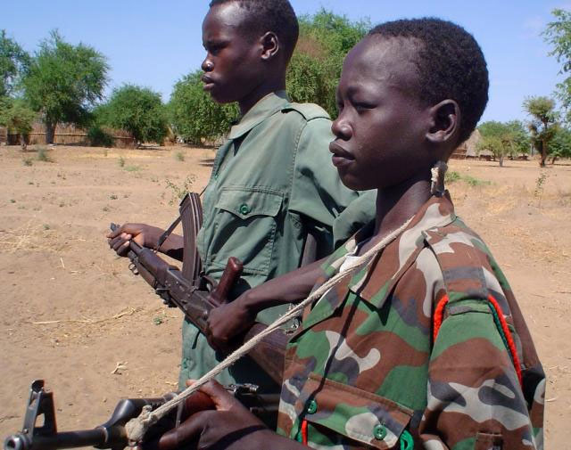 S. Sudan's Yau Yau pledges to demobilize child soldiers