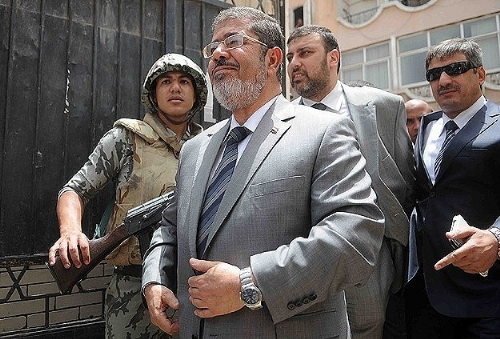Egypt's Morsi 'surprised' by military move to oust him