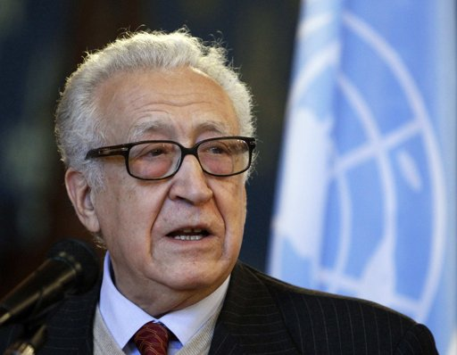 Brahimi arrives in Syria after Middle East tour