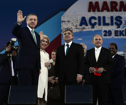Marmaray tunnel opens in Istanbul