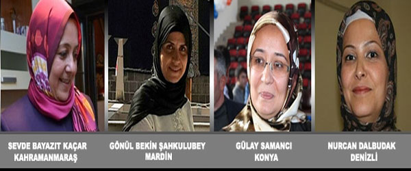 Four Turkish MPs to attend parliament in headscarves