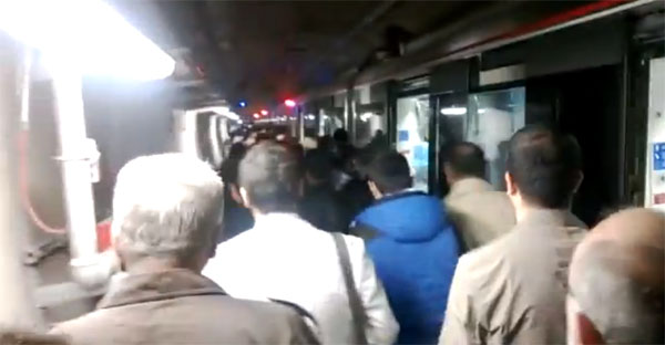 Power-cut hits Marmaray tunnel