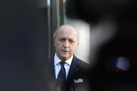 French FM in Bangui to attend president inauguration