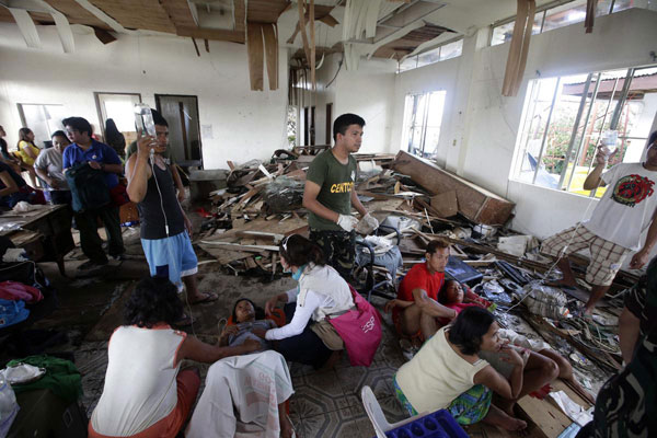 Turkey to donate 90 tons of aid to typhoon-hit Philippines