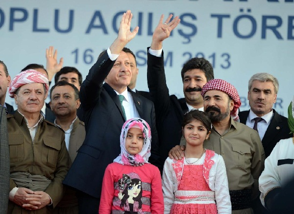 Erdogan calls for peace in Turkey's south-east -UPDATED