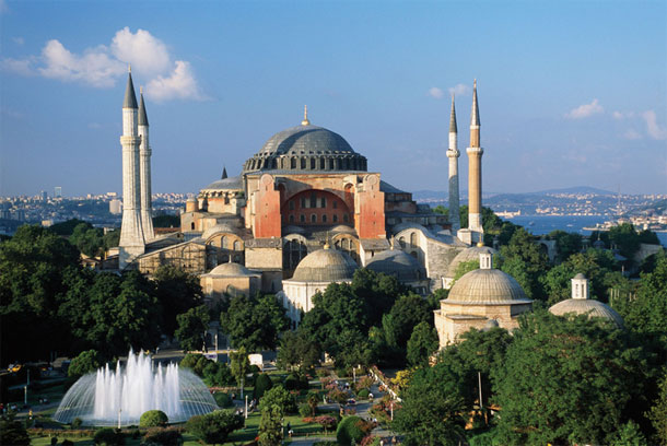 How was the Hagia Sofia transformed into a museum?