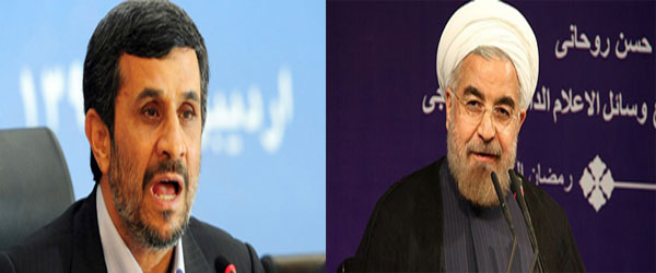 Ahmadinejad challenges Rouhani to debate 'baseless' charges