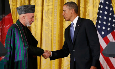 Karzai accuses US of behaving like colonial power
