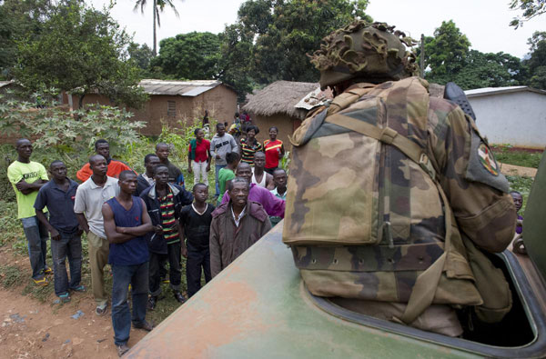 French support for C. African intervention fast eroding