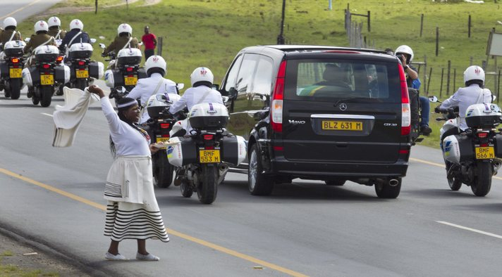 Nelson Mandela laid to rest in his home village