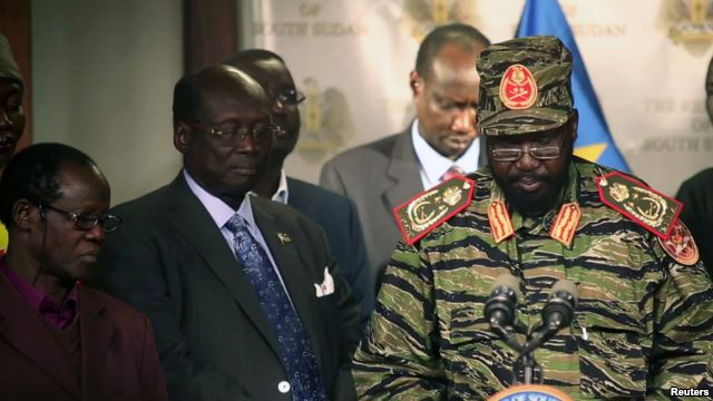 S. Sudan leader rejects Ethiopia power-sharing proposal