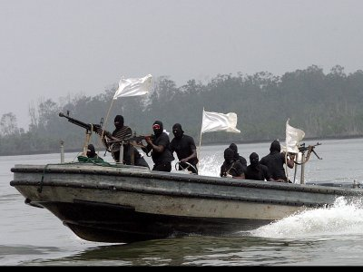 Ghana's navy frees hijacked tanker, arrests pirates