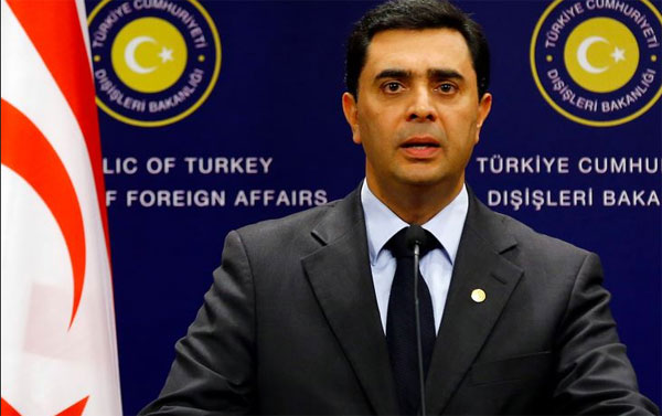 TRNC Foreign Minister has high hopes for peace in Cyprus