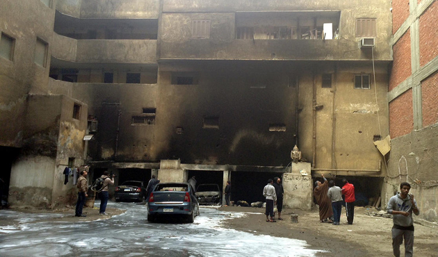 2 killed in Cairo bomb blast