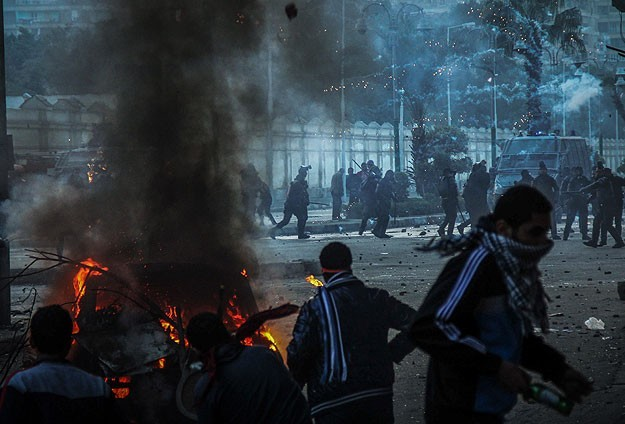 Salafist tension in Egypt: Five protesters killed -UPDATED
