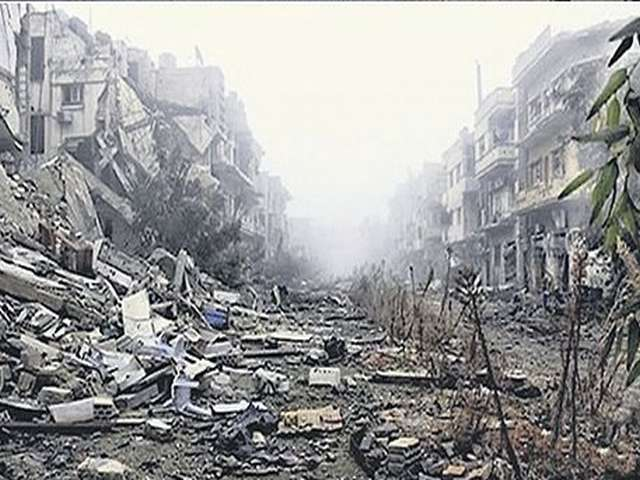Homs is pawn in Syria talks amid reports of starvation