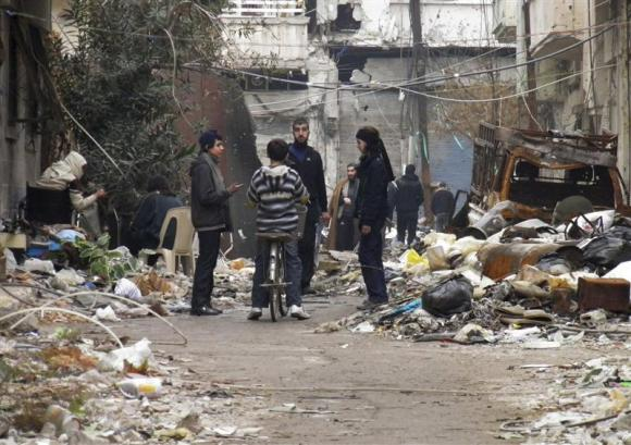 Syrian sides appear to have agreed over aid to Homs