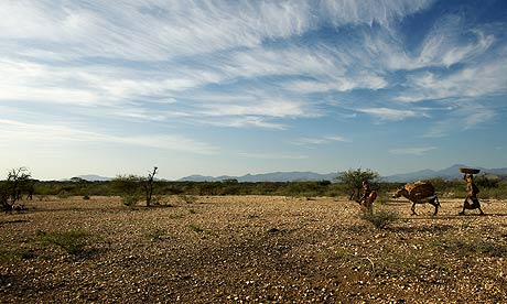 Somali drought causing death