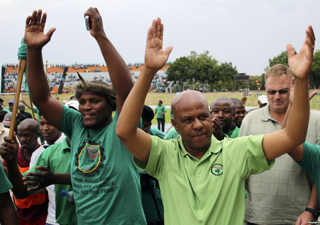 S.Africa's Zuma slams AMCU for risking jobs with strike
