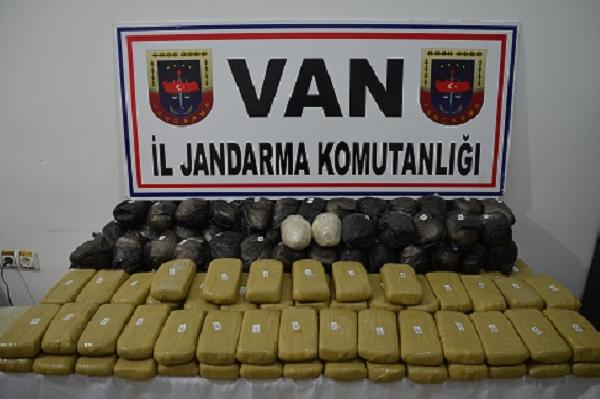 106 kg of heroin seized in eastern Turkey