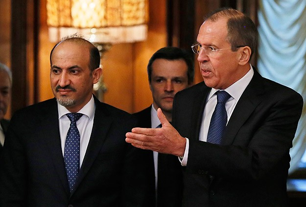 Syrian opposition leader in Moscow