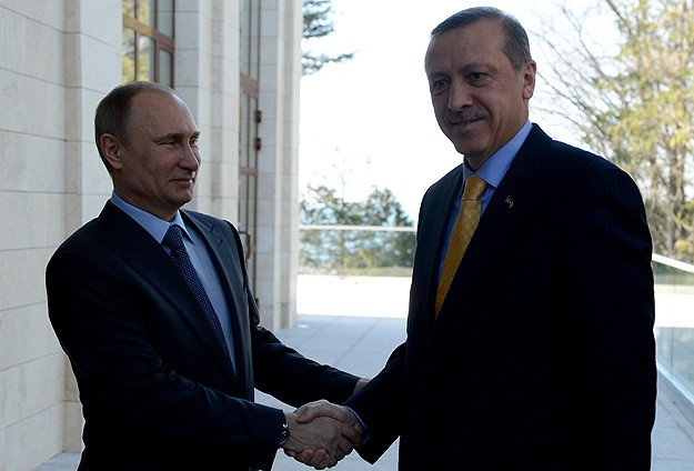 Turkish PM Erdogan and Putin meet in Sochi
