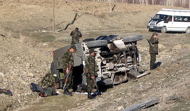 Road accident leaves 3 soldiers dead in eastern Turkey