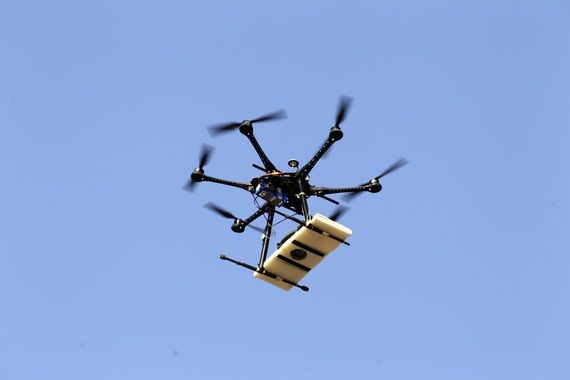 African firm is selling pepper-spray bullet firing drones