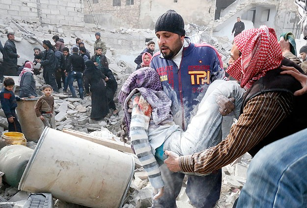 215,000 people killed in Syrian civil war
