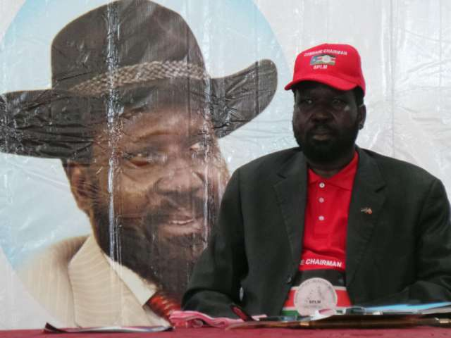 S. Sudan says 2015 presidential polls on schedule