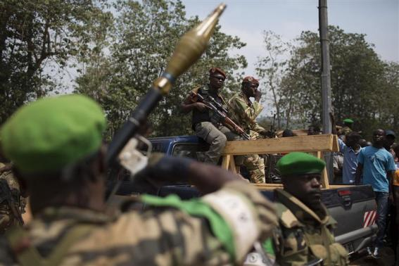 African peacekeepers to train Central African police officers