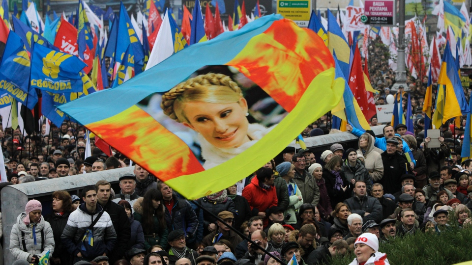Ukrainian protesters to be released Monday