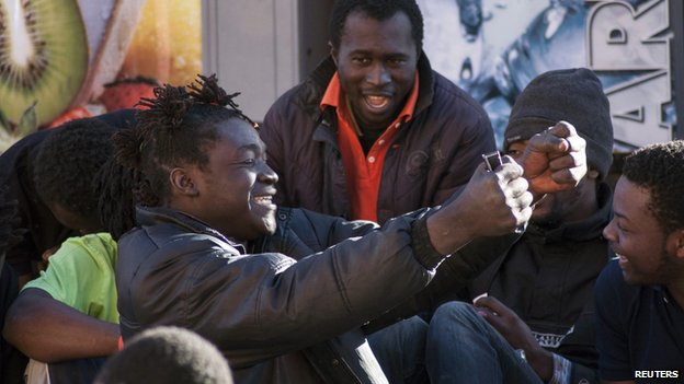 200 African migrants storm into Spanish Melilla