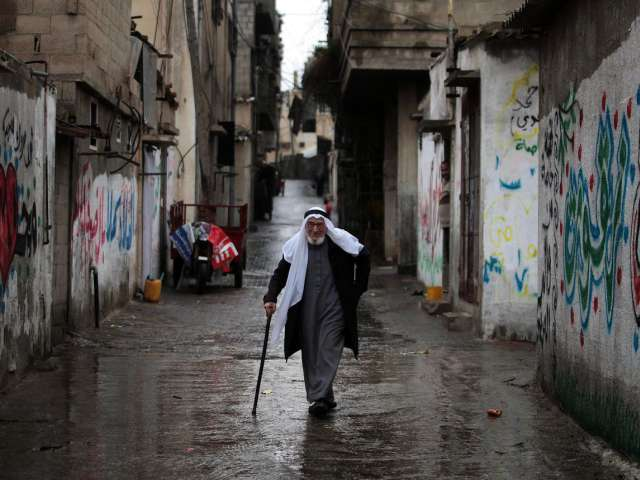 Dozens vacate Gaza City homes in fear of rain floods